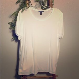 Eileen Fisher Scoop Neck T Shirt Large